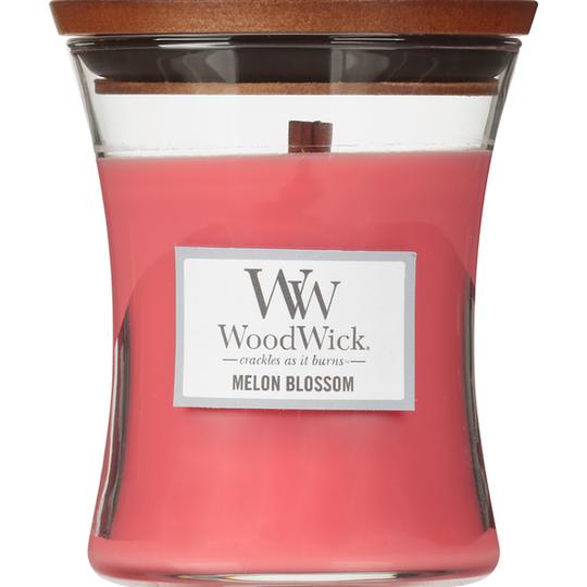 WoodWick Medium Candle, Melon Blossom