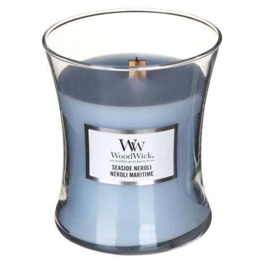 WoodWick Seaside Neroli Medium Candle