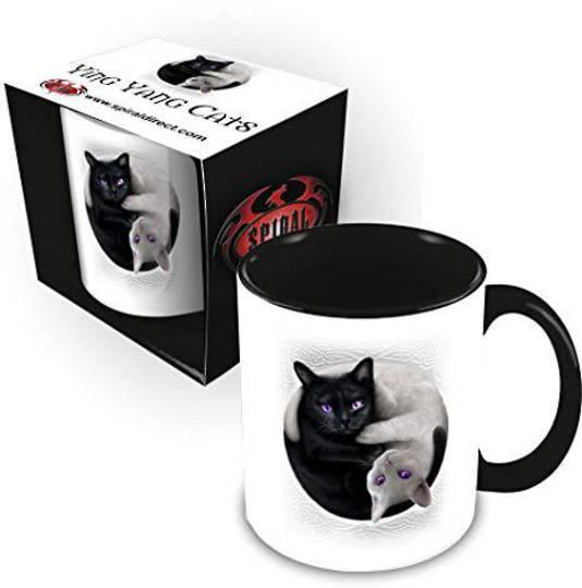 YIN YANG CATS - Ceramic Mug