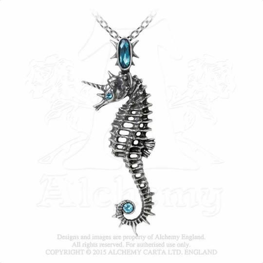 Aequicorn Seahourse/Unicorn Necklace