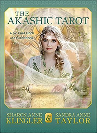 The Akashic Tarot by Sharon Anne Klingler, Sandra Anne Taylor