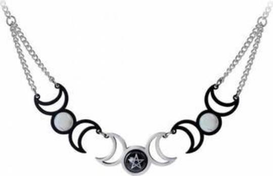 Tres Lunae Necklace