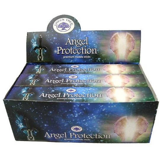 Green Tree Angel Protection Incense 15gm