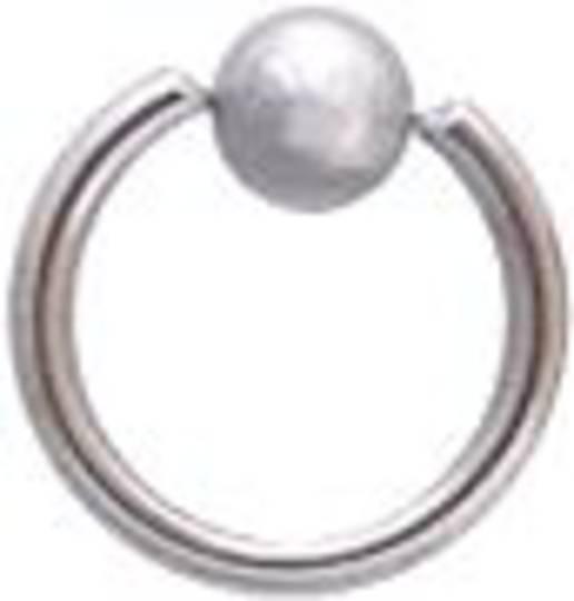 ball closurer rings 14g