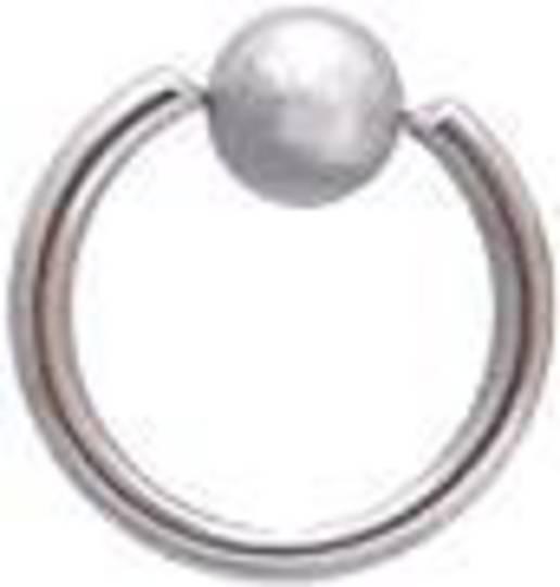 14g BCR (1.6mm) 10mm diameter