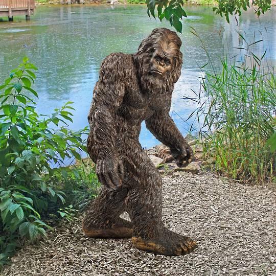 Bigfoot the Garden Yeti