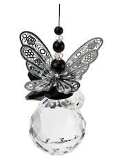 Black Butterfly on Sphere  Suncatcher was $40 now $30