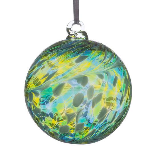Blue Green Friendship Ball 8cms