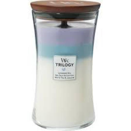 WOODWICKWoodWick Trilogy Calming Retreat Large Candle
