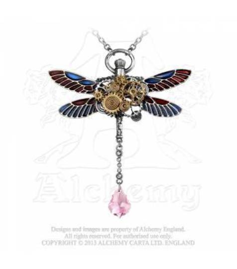 Clockwork Darter Pendant and Chain