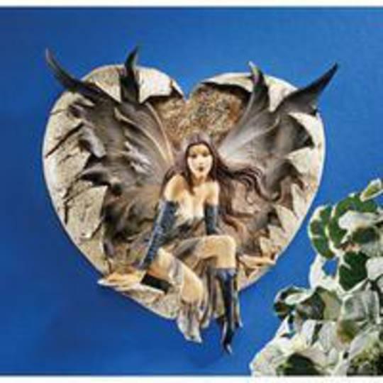 The Dark Valentine Wall Sculpture