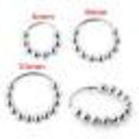 Sterling Silver Multiple Ball Nose Ring 8mm