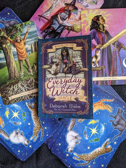 The Everyday Witch Oracle by Deborah Blake