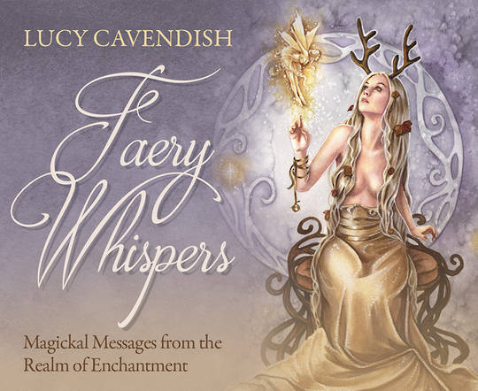 Faery Whispers Mini Oracle Cards by Lucy Cavendish