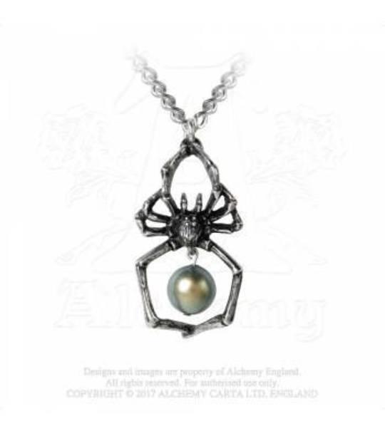 Glistercreep Spider Necklace