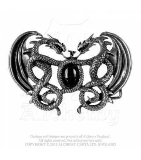 Gramilion Dragon Belt Buckle from Alchemy Gothic