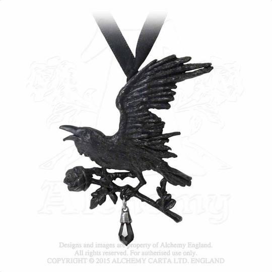Harbinger Raven Necklace