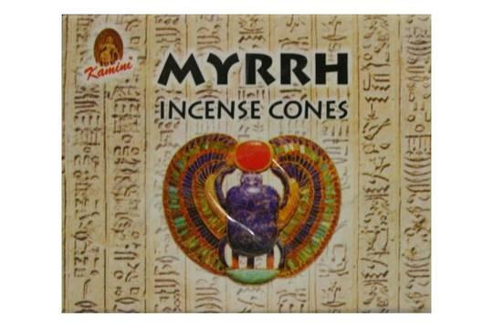 Kamini White Myrrh Incense Cones