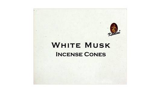 Kamini White Musk Incense Cones