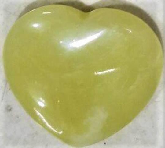 Lemon Jade Heart