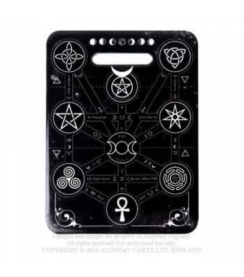 Magic Symbols Chopping Board