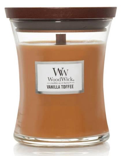 WoodWick Medium Candle Vanilla Toffee