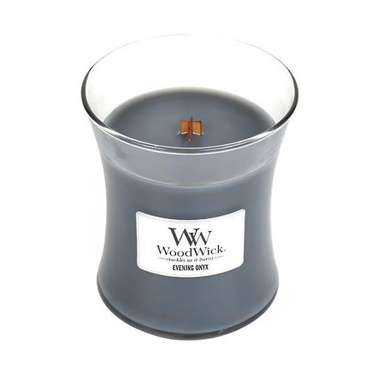 Evening Onyx WoodWick Candle Medium