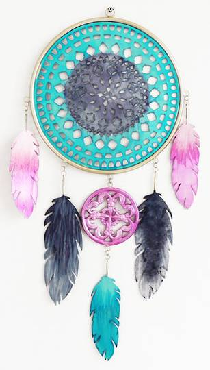Five Feather Dream Catcher