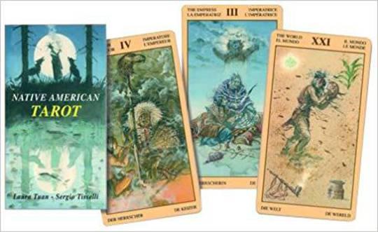 Native American Tarot Cards by Laura Tuan