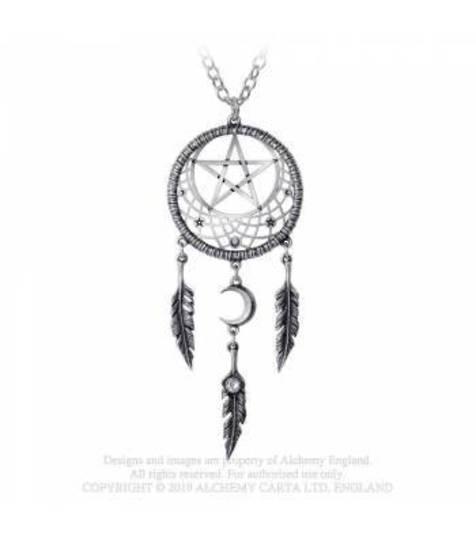 Pagan Dream Catcher Necklace