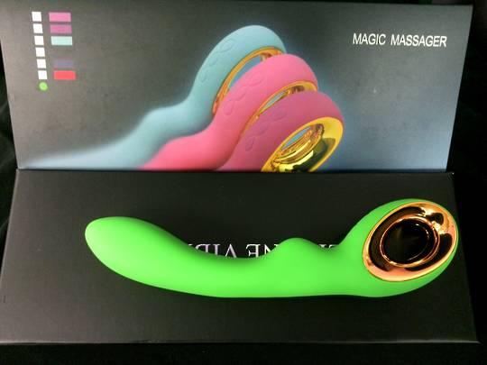 Magic Massager Standard Green Vibrator
