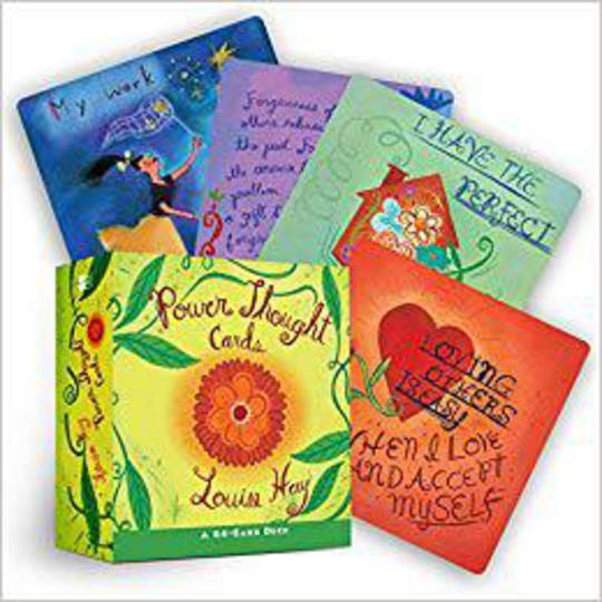 Power Thoughts Oracle Cards By Louise Hay