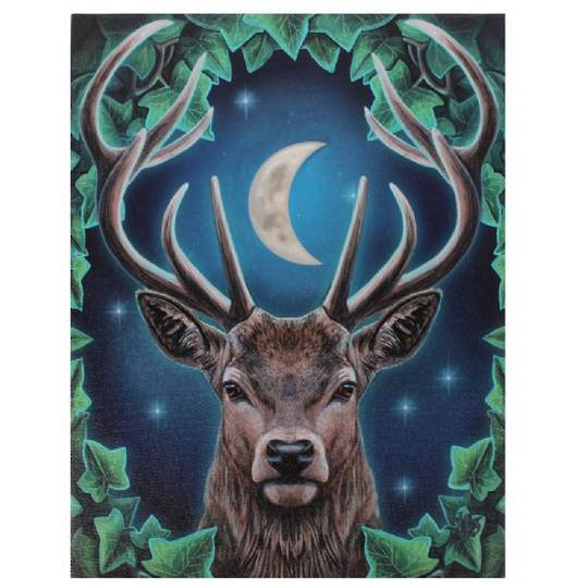 Small Emperor Deer Canvas
