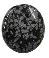 Snowflake Obsidian Flatstone