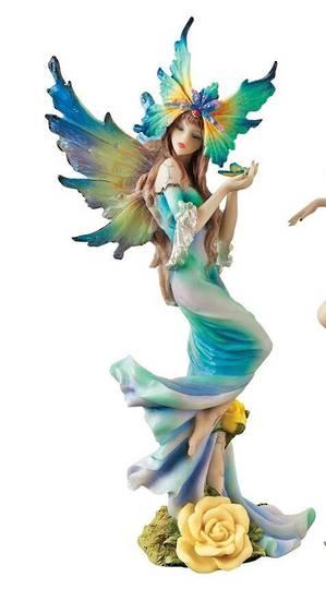 Flower Fairies of Butterfly Hollow: Tea Rose Fairy