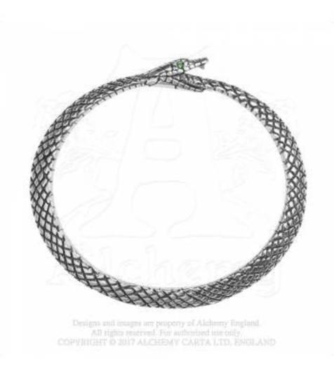 The Sophia Serpent Bracelet