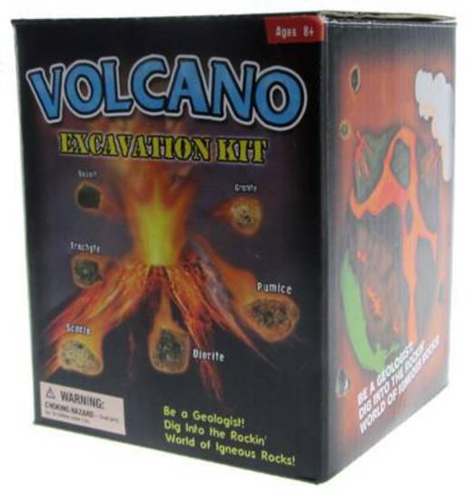 Volcano Excavation kit