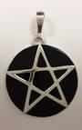 Onyx Pentagram Pendant