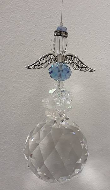 Blue Angel 50mm Suncatcher