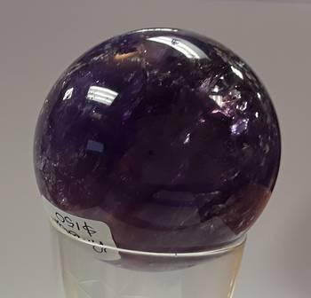 A Grade Amethyst Crystal Ball 58mms