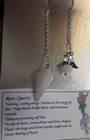 Rose Quartz with Little Angel Pendulum (p743)