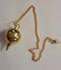 Round Gold Metal Pendulum
