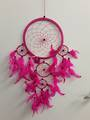 Dark Cerise Pink Dreamcatcher 22cms