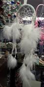 Small White Sparkle Dreamcatcher