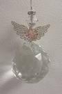 Filagree Flower Angel Suncatcher