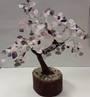 Gem Tree Amethyst & Rose Quartz-Lotus-Inner Peace