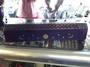 Purple Wooden Sun and Moon Incense Burner