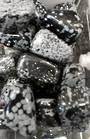 Small Snowflake Obsidian Tumbled Piece