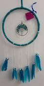 Turquoise Howlite Tree Dreamcatcher 20cms