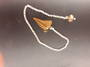 Tigers Eye Pendulum with Bead End